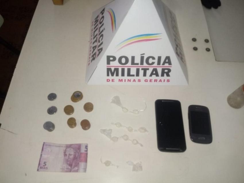Polícia Militar apreende cocaína em Matozinhos