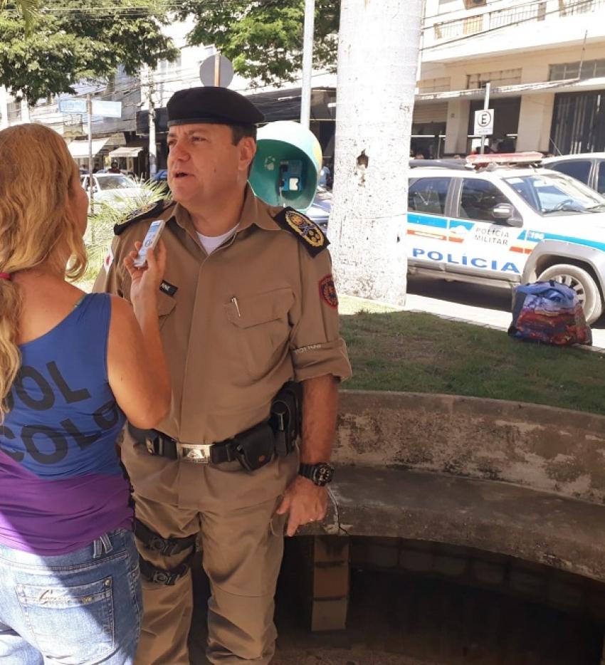 Comandante Geral da policia Militar de Minas Gerais, Coronel Geovane presente na entrega de duas viaturas novas para Pedro Leopoldo