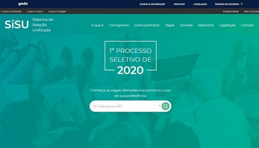 MEC lança novo site do Sisu