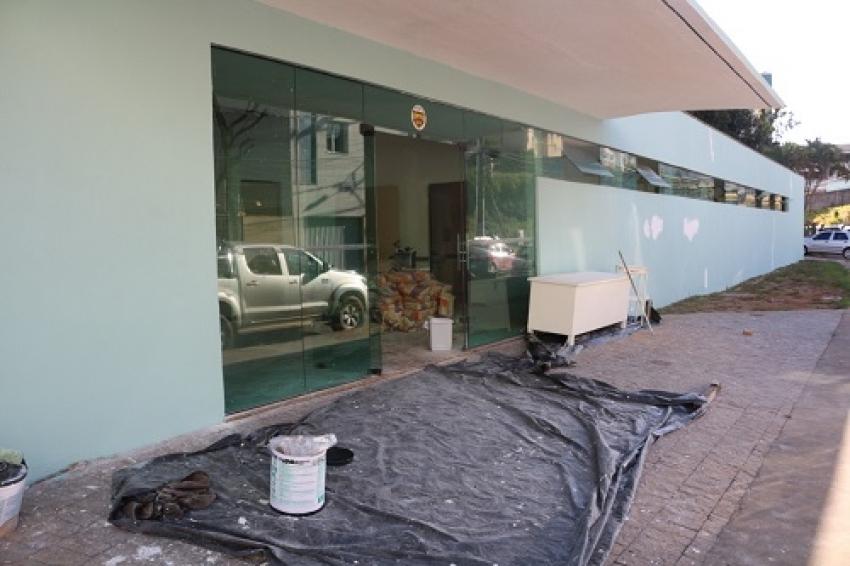O novo hospital Municipal esta sendo reformado para o combate ao coronavírus