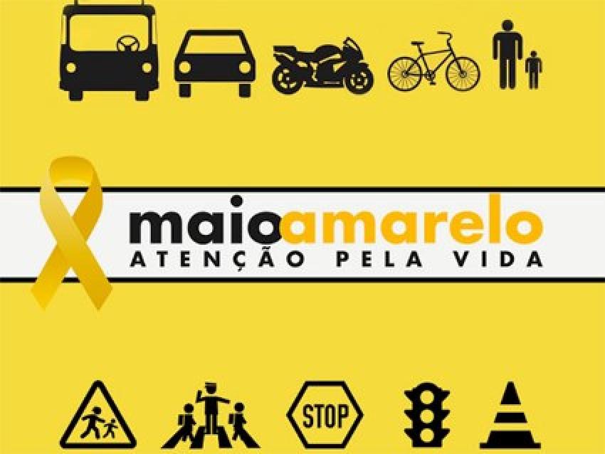 O Maio Amarelo é uma campanha de conscientização sobre segurança no tránsito