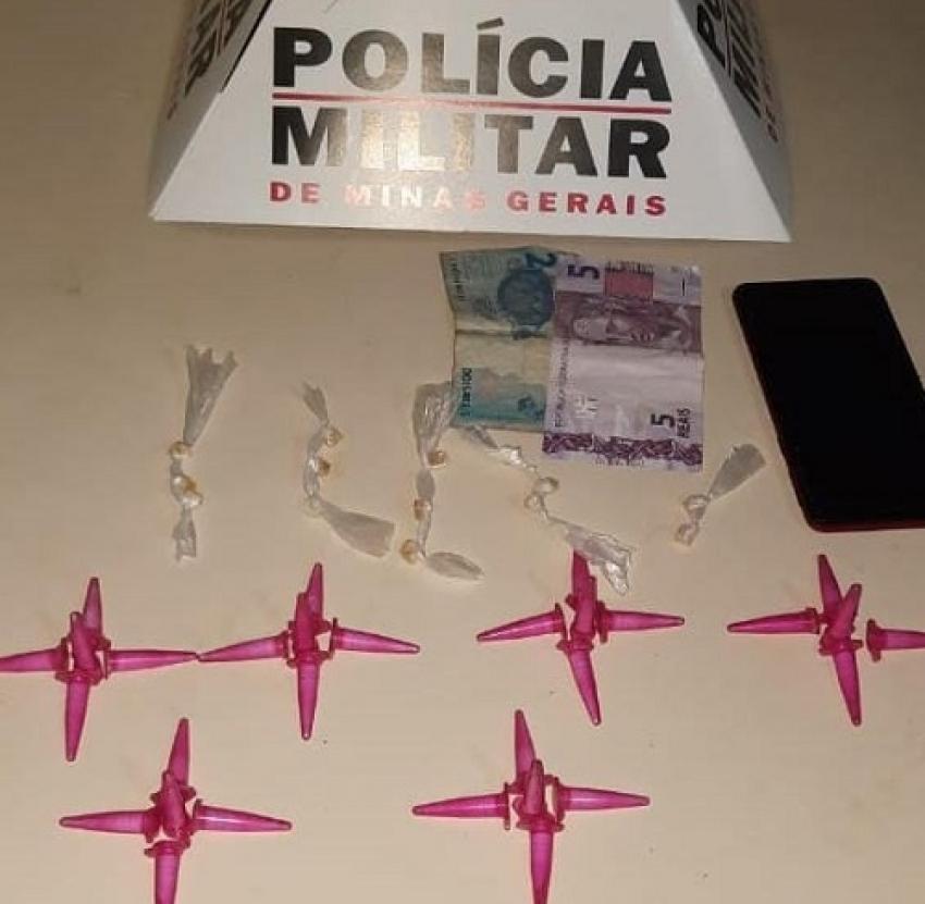 Polícia Militar apreende menor de idade suspeito de envolvimento no tráfico de drogas