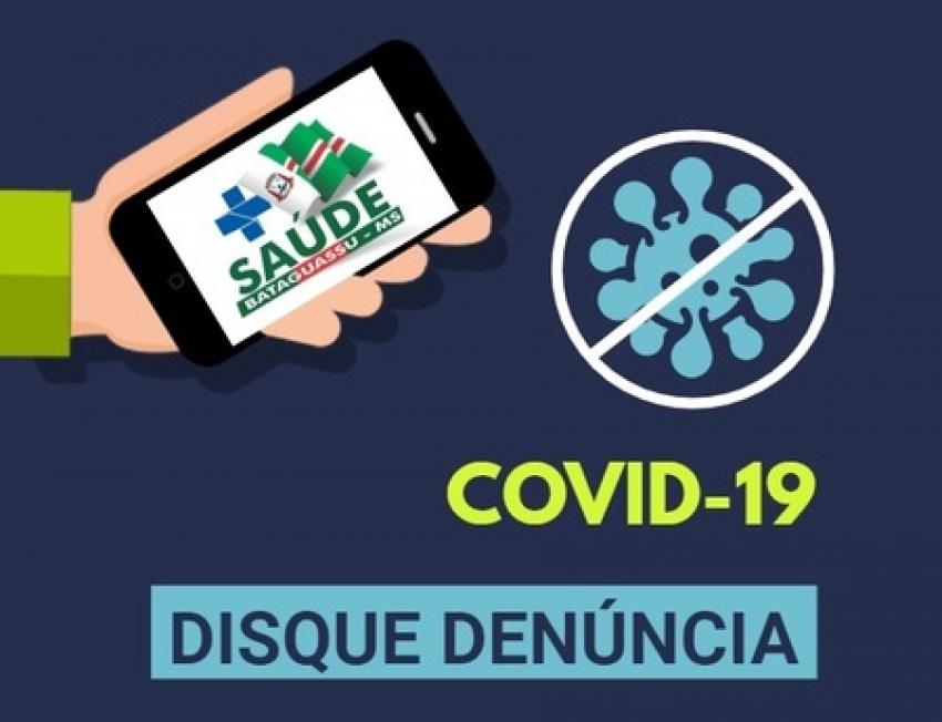Prefeitura lança canal de denúncia exclusivo para Covid-19