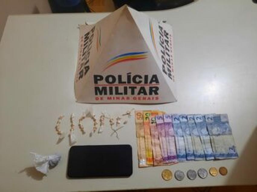Policia Militar prende 2 suspeitos e apreende muita droga em Matozinhos