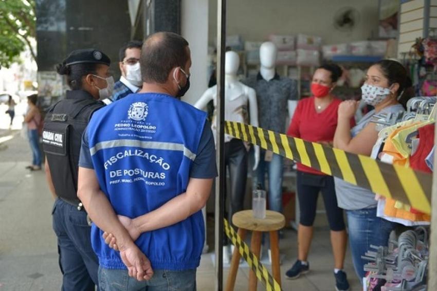 Comércios não essenciais de Pedro Leopoldo serão fechados novamente nesta segunda-feira, 25, para uma avaliação