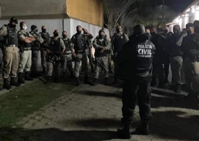"""Sete pessoas foram presas na Operação """"Linha do Equador"""" em Matozinhos"""