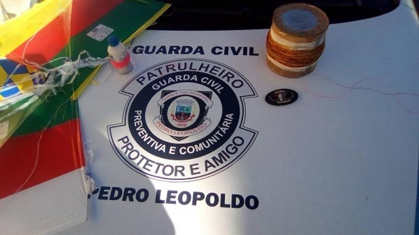 """Guarda Civil Municipal De Pedro Leopoldo combate o uso da """" Linha Chilena """" e o """"Cerol """""""
