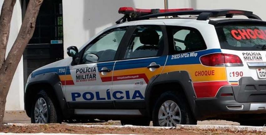 Disparos de arma de fogo atinge muro no bairro Felipe Claúdio de Sales