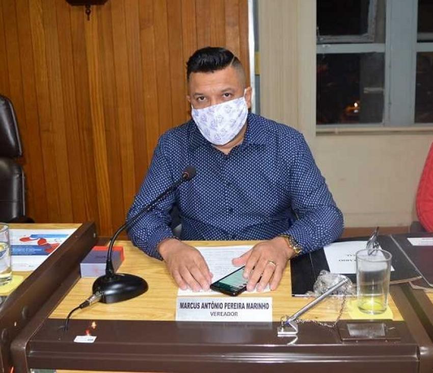 Marcus Marinho faz pedido por profissionais da saúde do consórcio ICISMEP