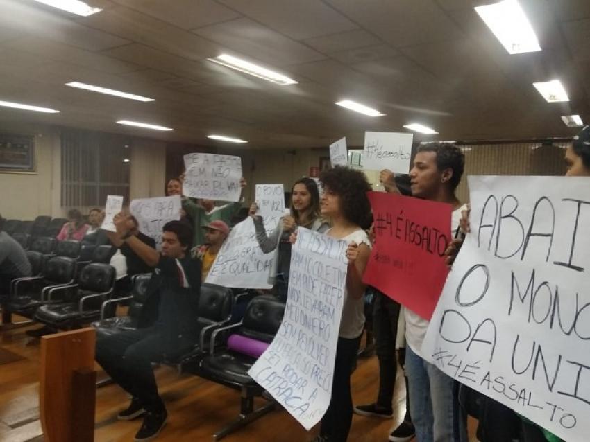 Audiência Pública, nesta terça-feira,  25,  para debater as condições do transporte da Unir, público em Pedro Leopoldo