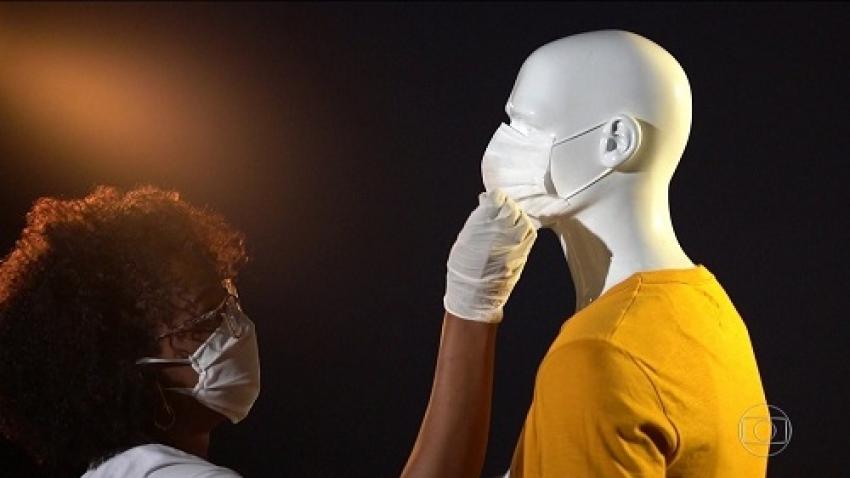 Pesquisadoras da UFMG demonstram que máscara e distanciamento são importantes para a prevenção do coronavírus