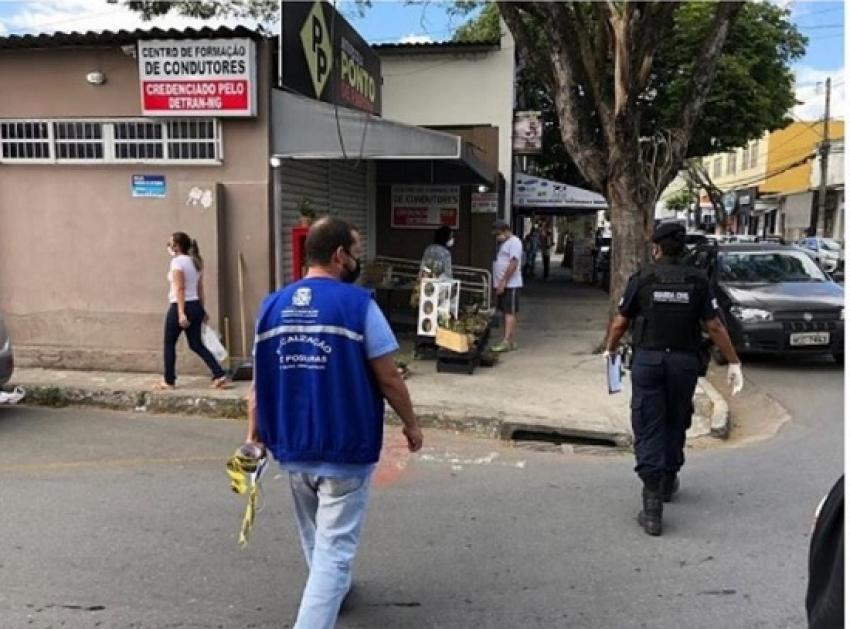 Nesta segunda-feira, 13, o comercio não essencial fecha novamente em Pedro Leopoldo, seguindo a estratégia de intermitência até o dia 19, domingo.