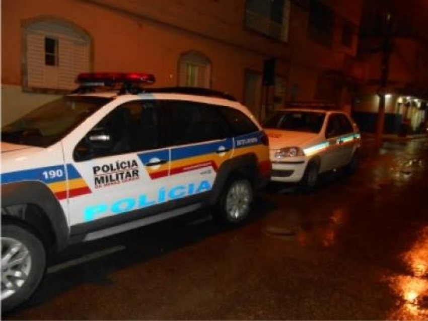 Polìcia encontra veículo com sinalização de queixa furto/roubo no bairro Quinta Das Palmeiras