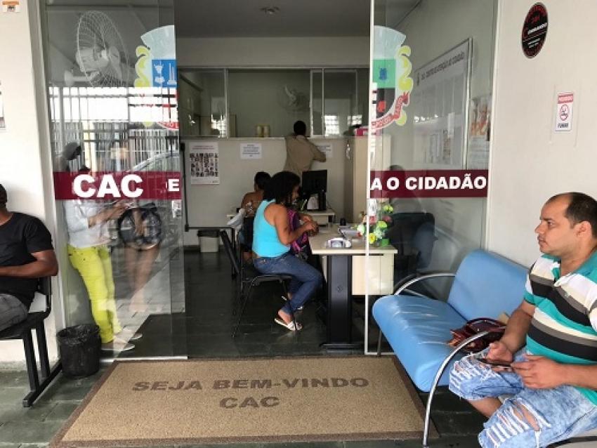 CAC realiza quase 2500 atendimentos nos três primeiros meses do ano de 2019