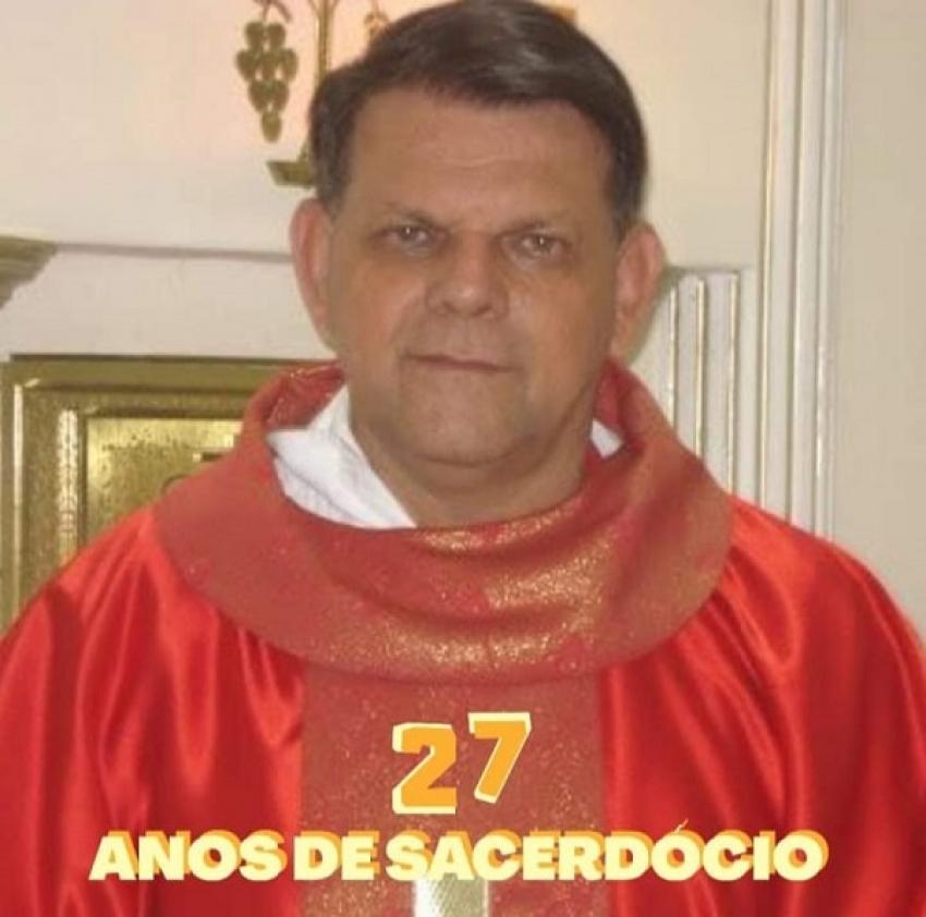 A morte do  padre José Nogueira, causa grande comoção nos moradores da região norte de Pedro Leopoldo
