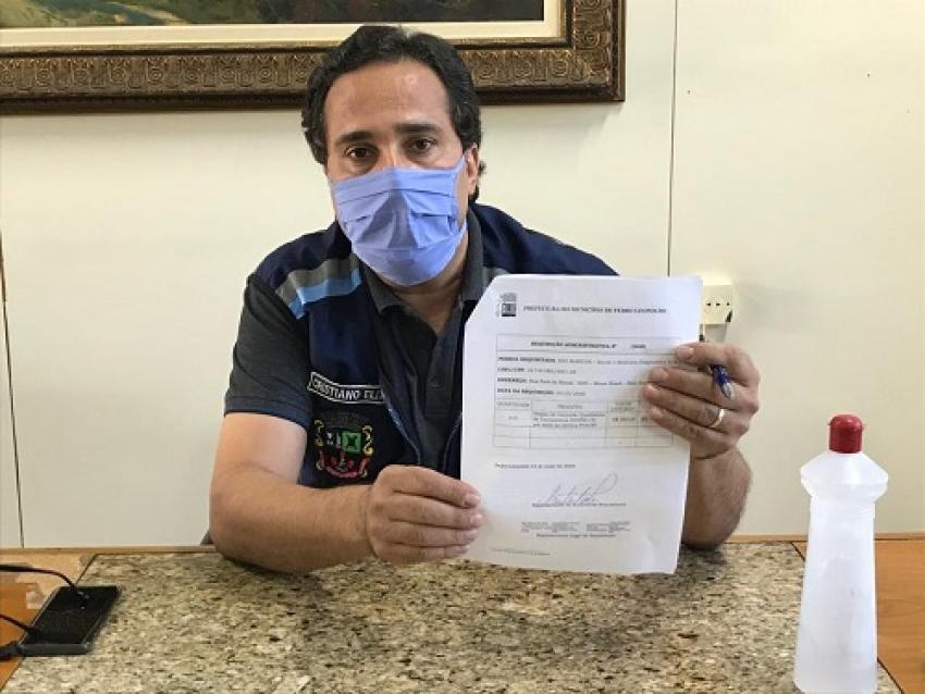 Com 260 casos suspeitos da doença, município conta agora com 315 testes (PCR) e 120 testes rápidos
