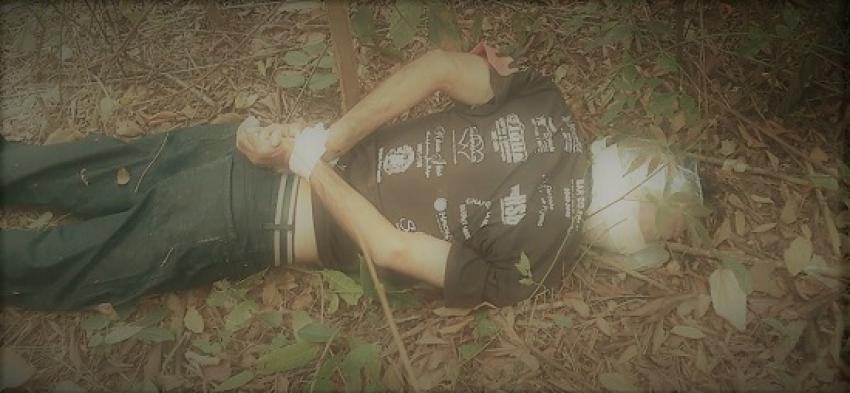 """Foi assassinado o conhecido """"Zim Taioba""""  com sinais de estrangulamento."""