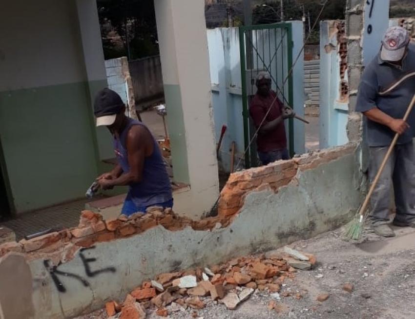 Secretaria Municipal de Segurança Pública inicia obra  de construção de Posto de Prevenção em Lagoa de Santo Antônio, região norte de Pedro Leopoldo