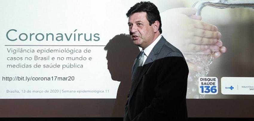 """Ministro da saúde diz """" o sistema de saúde pode entrar em colapso no fim de Abril"""