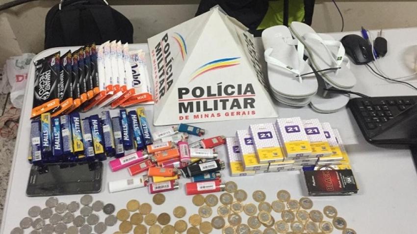 Indivíduos são detidos após suspeita de roubo em mercearia no bairro Teotônio Batista De Freitas
