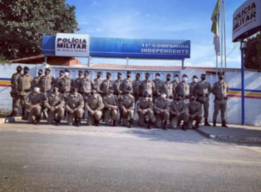 POLICIA MILITAR DE PEDRO LEOPOLDO RECEBE 30 NOVOS POLICIAIS