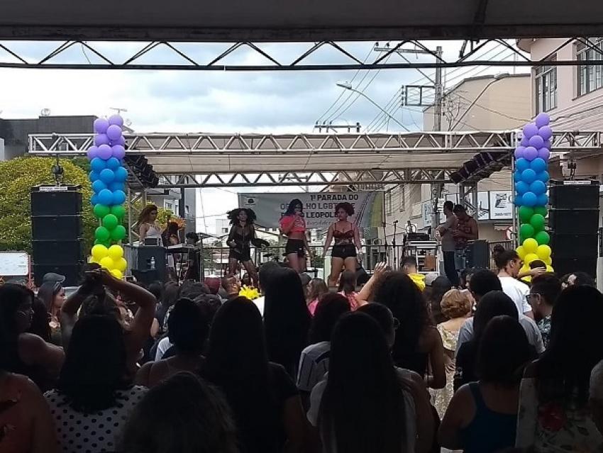 Aconteceu em Pedro Leopoldo a primeira 1ª Parada do Orgulho LGBTi+, neste domingo, 29