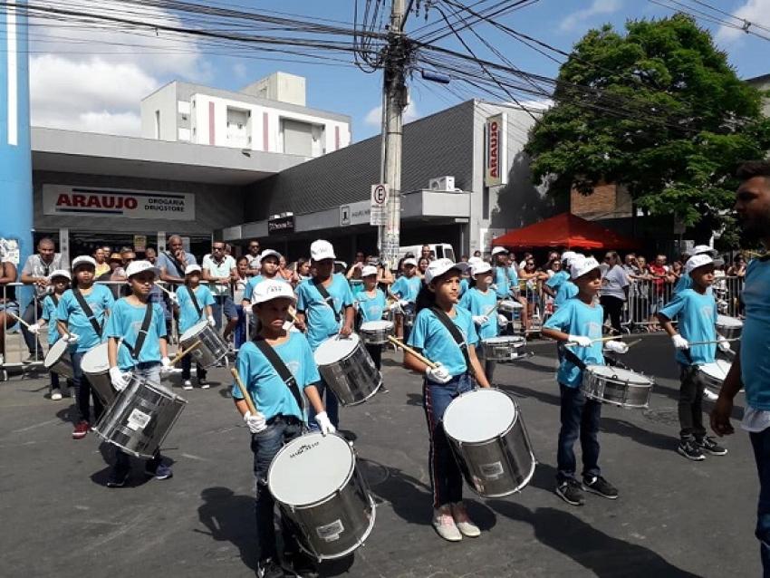 Desfile impecável do dia da Independência em Pedro Leopoldo