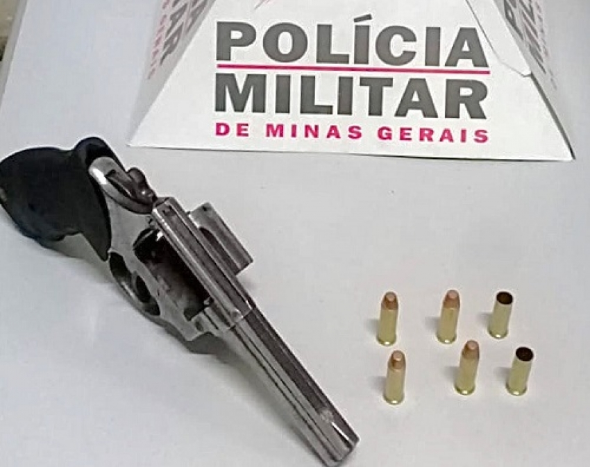Polícia Militar apreende arma de fogo no bairro Felipe Cláudio de Sales