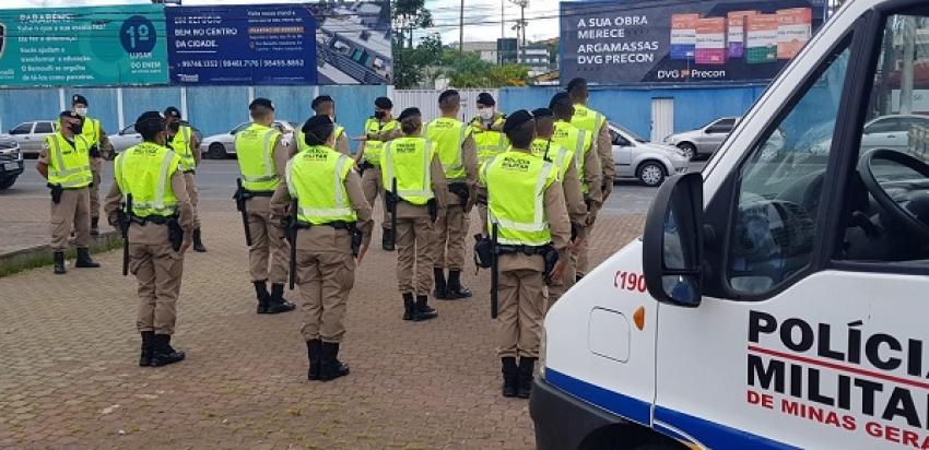 Polícia Militar faz o lançamento da Operação Natalina 2020 em Pedro Leopoldo