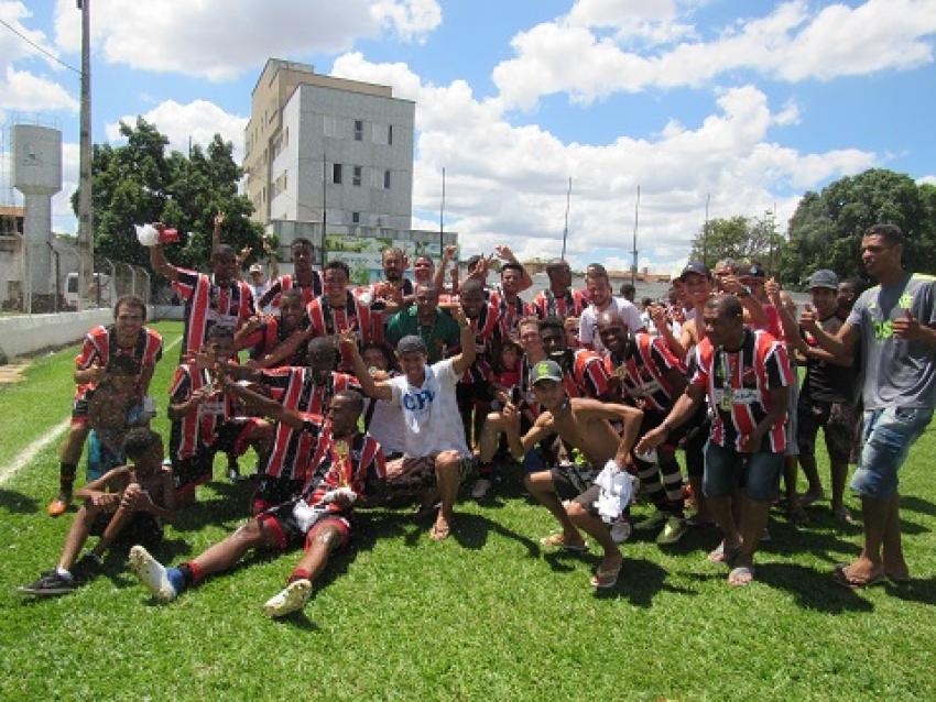 O Juventus F.C do bairro Santo Antônio é o campeão do Campeonato Municipal Amador 2019