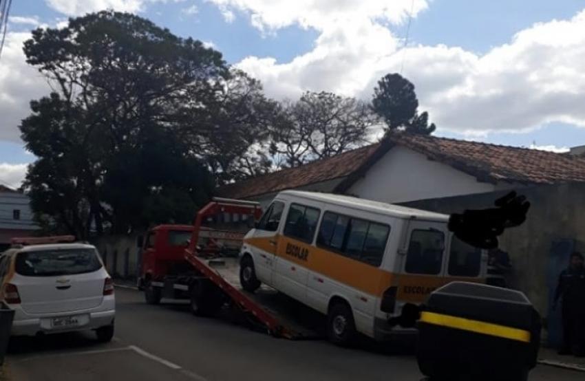 Guarda Civil Municipal fiscaliza o transporte escolar de Pedro Leopoldo