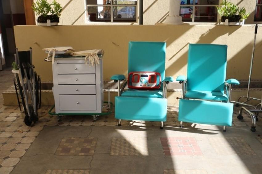 Nesta quinta-feira, 01, aconteceu a entrega de  vários novos equipamentos para as unidades de saúde da cidade