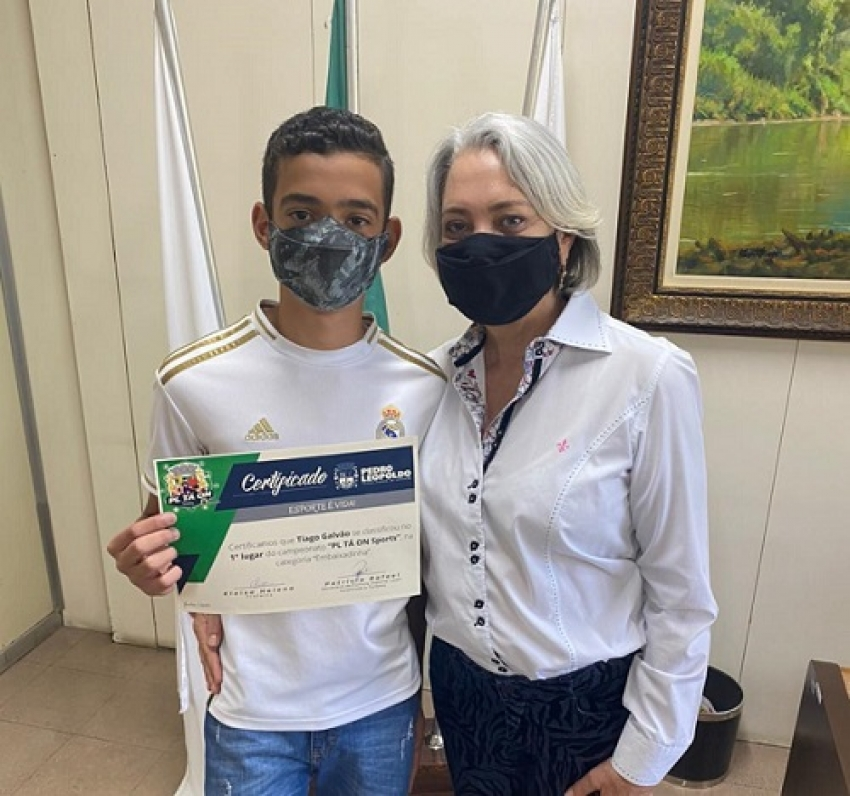 A competição PL TÁ ON entrega certificados aos vencedores da competição esportiva on line durante a pandemia