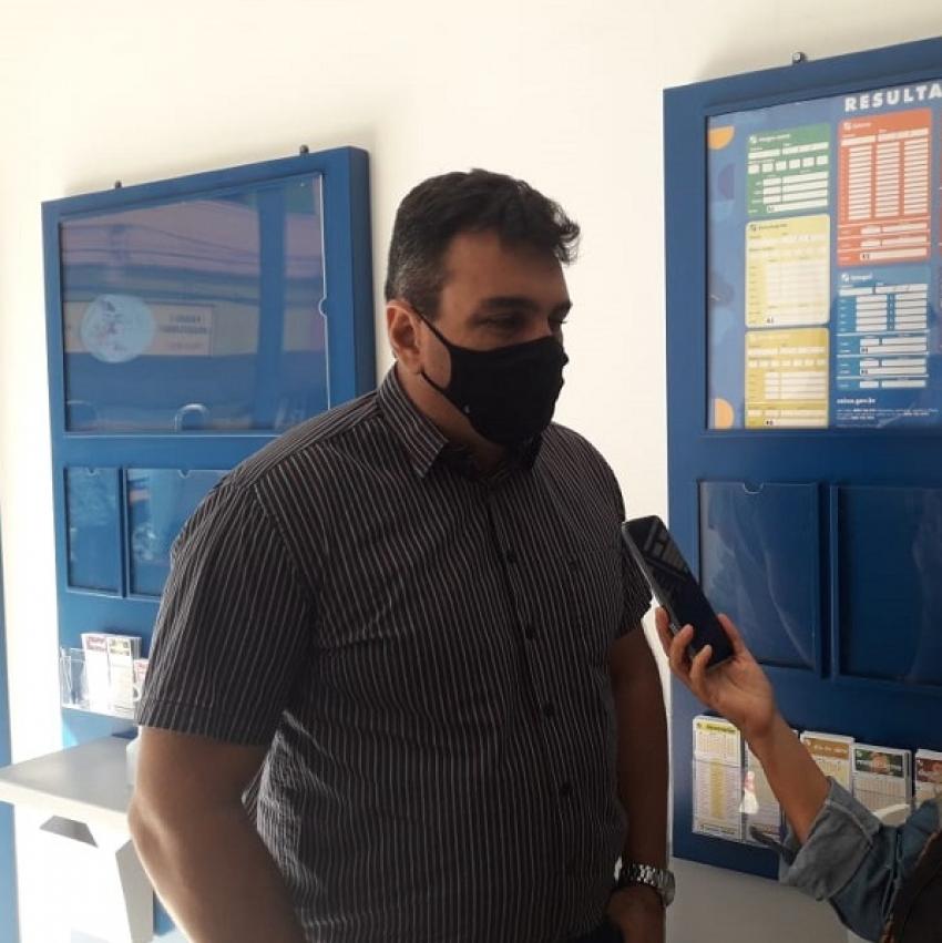 Já esta funcionando  a Casa Lotérica Santo Expedito em Lagoa de Santo Antônio