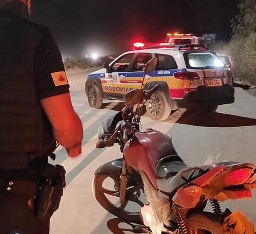 Motociclista sobrevive após grave acidente na MG 424